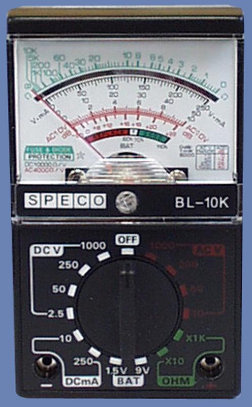 speco technologies analog multimeters christy industries rh christy ind com mastercraft analog multimeter manual micronta analog multimeter manual
